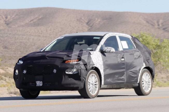 Kia SUV 2018 - foto espía