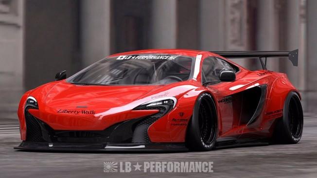 McLaren 650S modificado por Liberty Walk