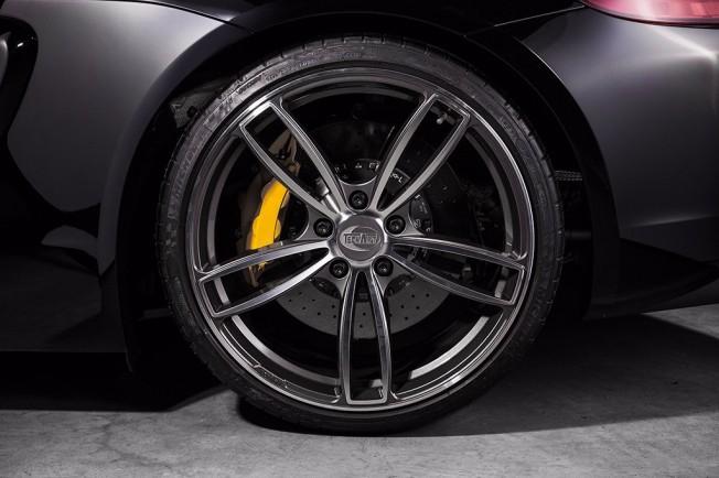 Porsche Cayman GT4 Llantas TechArt Formula IV