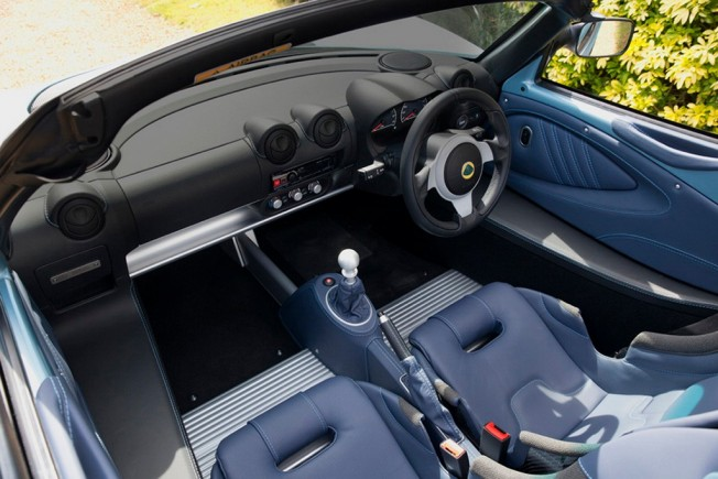 Lotus Elise 250 Special Edition - interior