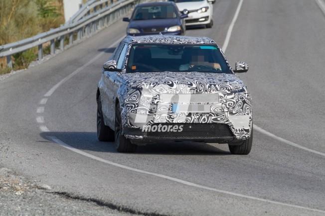 Range Rover Sport Coupé 2018 - foto espía frontal