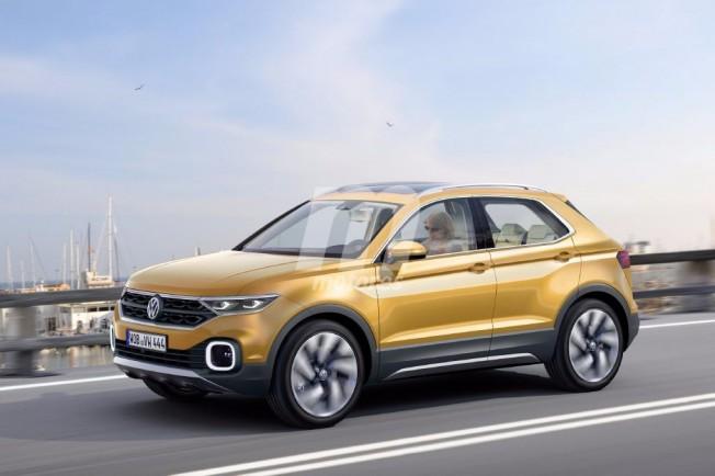 Volkswagen Polo SUV - Recreación