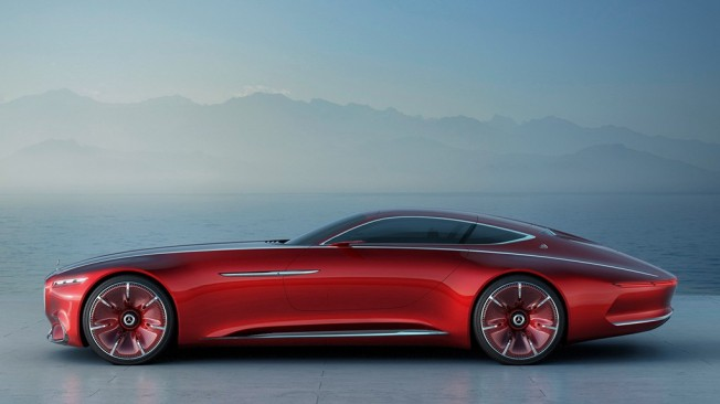 Vision Mercedes-Maybach 6 Concept - lateral