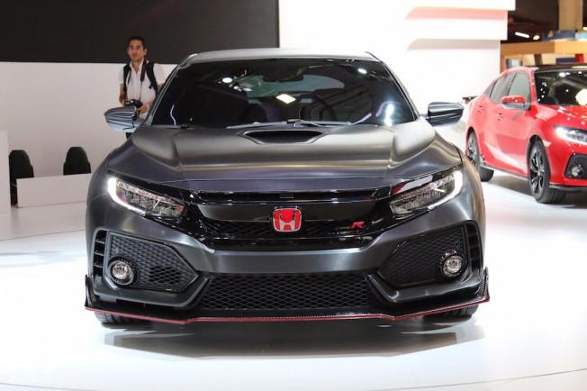 Honda Civic Type R Prototype - frontal