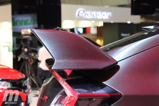Honda Civic Type R Prototype - alerón