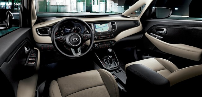 Kia Carens 2017 - interior