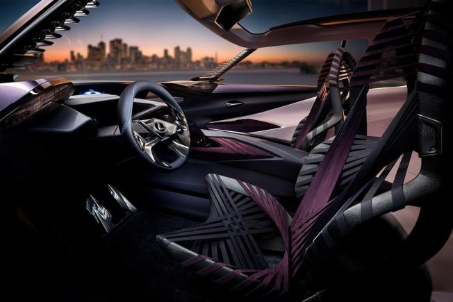 Lexus UX Concept - interior
