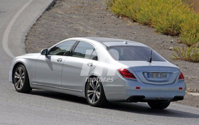 Mercedes Clase S 2017 - foto espía