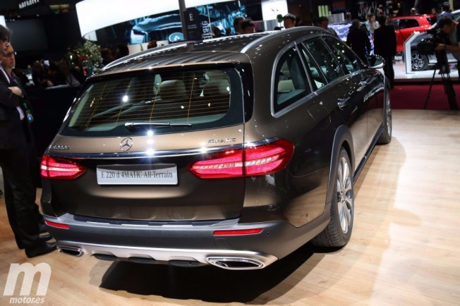 Mercedes Clase E All-Terrain - posterior