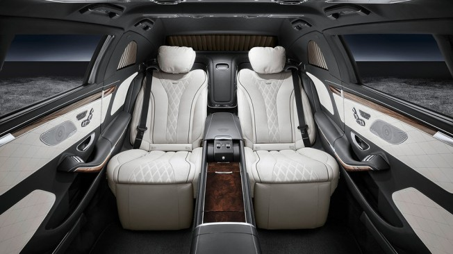 Mercedes-Maybach S 600 Pullman Guard - interior