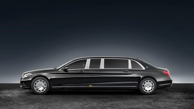 Mercedes-Maybach S 600 Pullman Guard - lateral