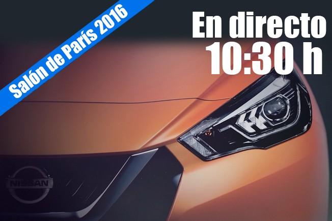 Salón de París 2016 - rueda de prensa de Nissan en directo