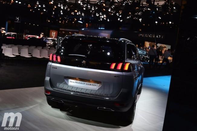 Peugeot 5008 2017 - posterior