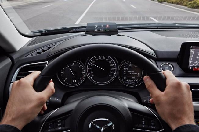 Mazda6 2017 - Head-Up Display