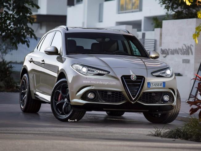 Alfa Romeo Stelvio - recreación