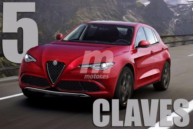 Alfa Romeo Stelvio - 5 claves