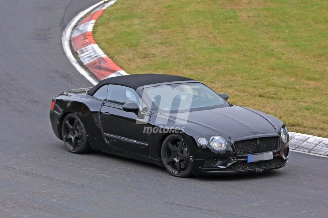 Bentley Continental GTC 2018 - foto espía