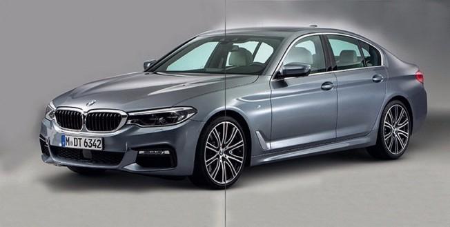 BMW Serie 5 2017 - foto filtrada