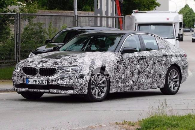 BMW Serie 5 2017 - foto espía