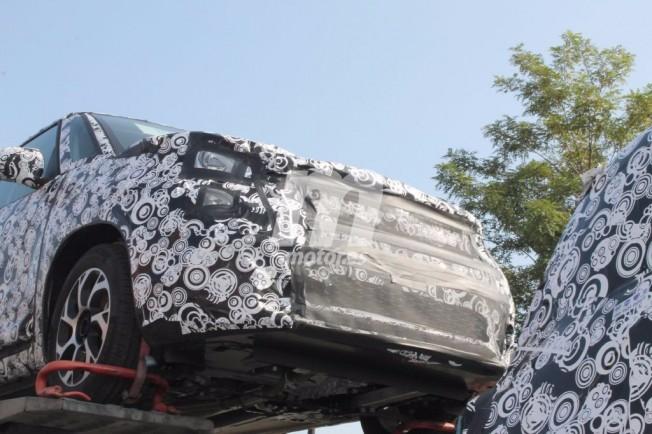 Fiat 500L 2018 - foto espía frontal