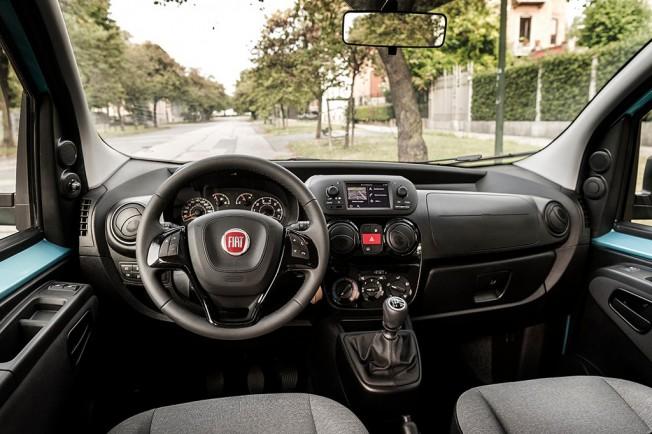 Fiat Qubo 2017 - interior