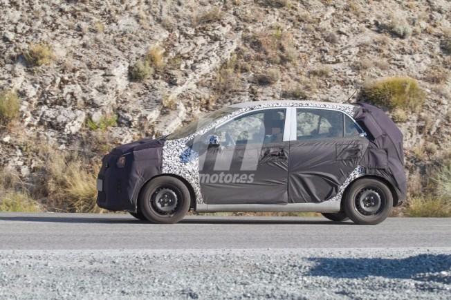 Kia Picanto 2017 - foto espía lateral