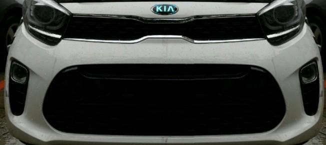 Kia Picanto 2017 - frontal filtrado