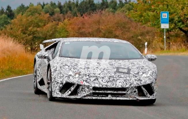 Lamborghini Huracán Performante - foto espía