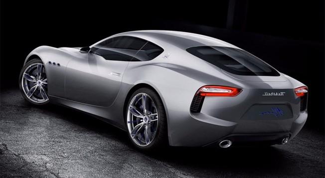 Maserati Alfieri Concept - posterior