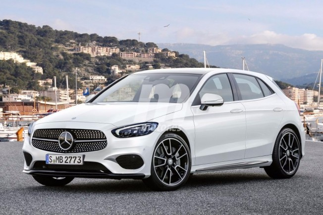 Mercedes Clase A 2018 - recreación
