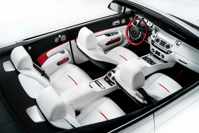 Rolls-Royce Dawn Inspired by Fashion - interior