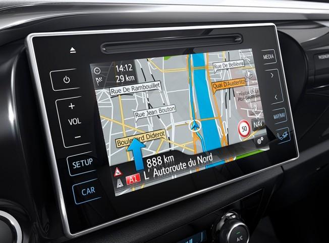 Toyota Hilux 2016 - Accesorios Opcionales