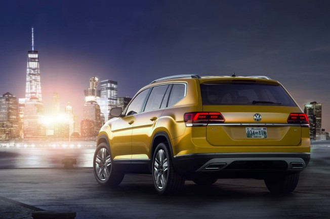 Volkswagen Atlas - posterior