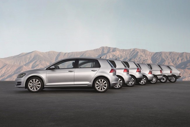 Volkswagen Golf - todas las generaciones