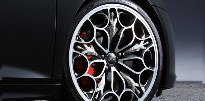 Audi R8 Star of Lucis - llanta