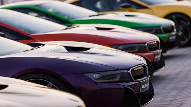 BMW i8 Yas Marina
