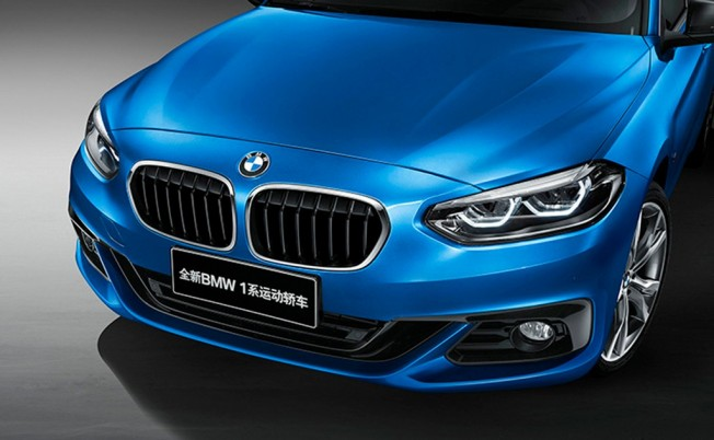 BMW Serie 1 Sedán - frontal
