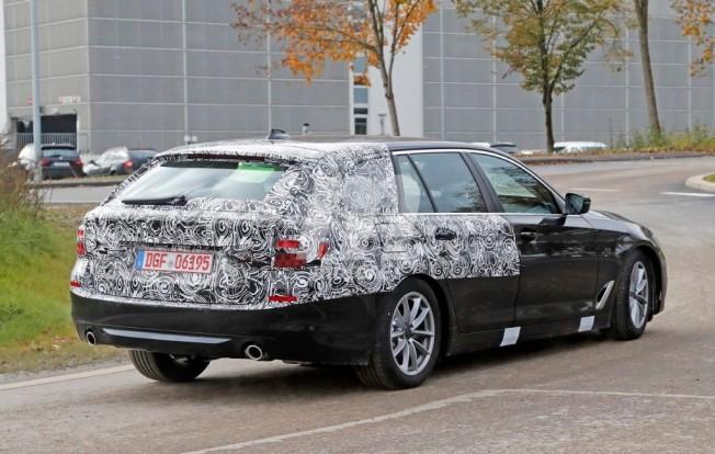 BMW Serie 5 Touring 2017 - foto espía