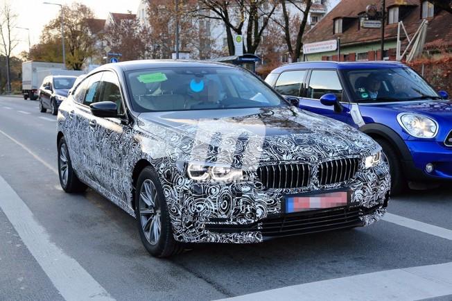 BMW Serie 6 GT - foto espía