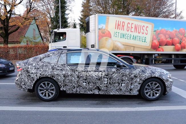 BMW Serie 6 GT - foto espía lateral