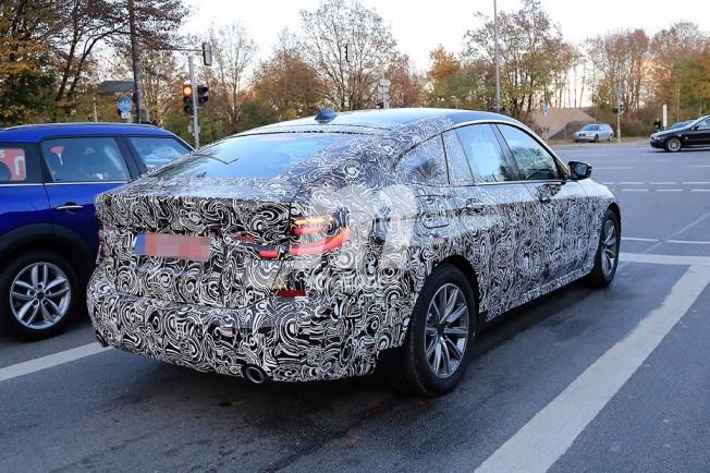 BMW Serie 6 GT - foto espía posterior