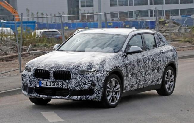 BMW X2 2017 - foto espía