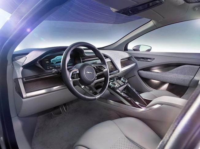 Jaguar I-Pace Concept - interior