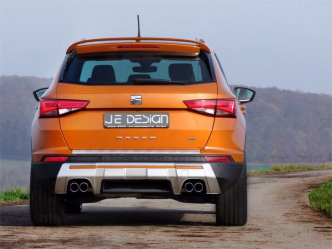 JE Design SEAT Ateca - posterior