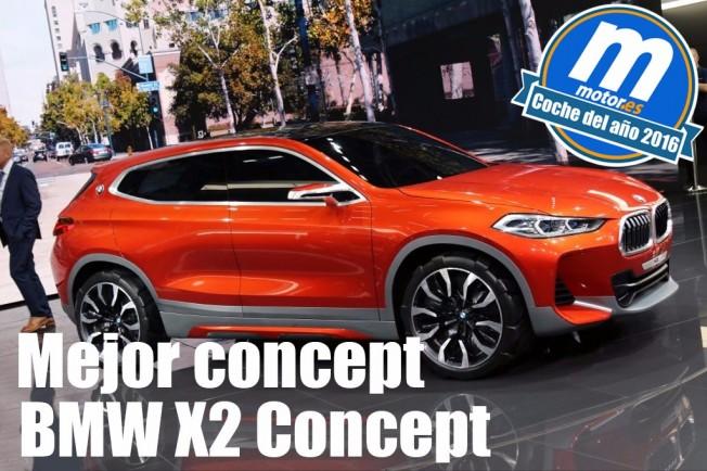 BMW X2 Concept - mejor concept 2016 para Motor.es