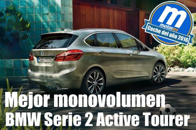BMW Serie 2 Active Tourer - mejor monovolumen 2016 para Motor.es