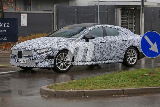 Mercedes CLE 2018 - foto espía