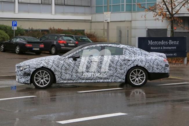 Mercedes CLE 2018 - foto espía lateral