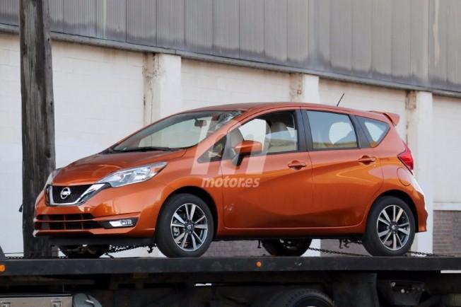2018 nissan note.  Nissan El Frontal Recibe El Nuevo Diseo De La Marca With 2018 Nissan Note