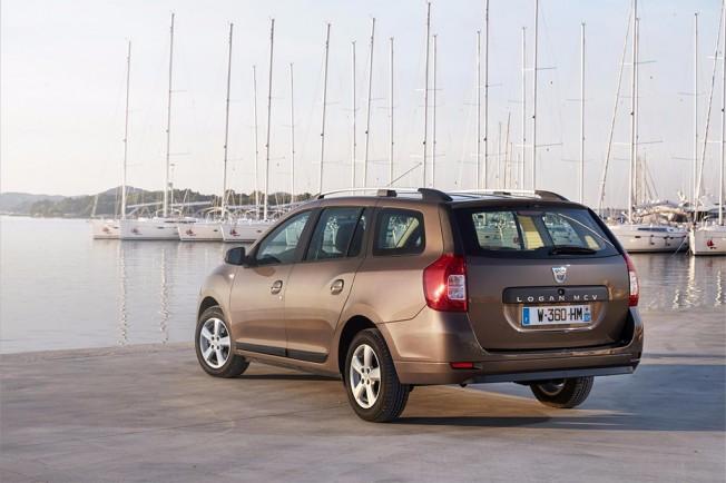 Dacia Logan MCV 2017 - posterior